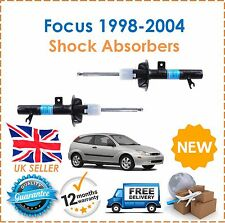 For Ford Focus MK1 1998-2004 TWO Front Shock Absorbers Pair Shockers Dampers New