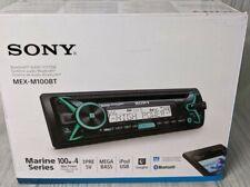 Sony MEX-M100BT Marine CD Receiver with Bluetooth & SongPal