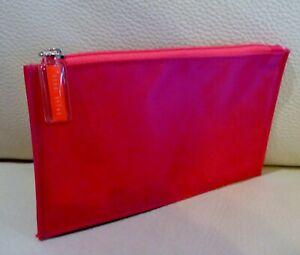 Bobbi Brown Red Makeup Cosmetics Bag, Brand NEW!