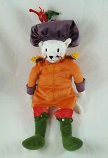 "Ikea Ridderlig Renaissance Costume Kitty Cat Plush Soft Toy 18"""