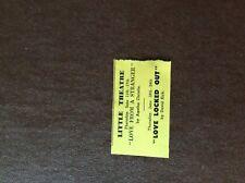 da2 ephemera 1964 guernsey advert little theatre love from a stranger christie