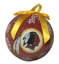Washington Redskins NFL American Football LED Light Up Christmas Tree Ornament