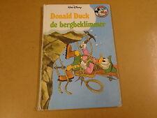 BOEK WALT DISNEY / DONALD DUCK DE BERGBEKLIMMER