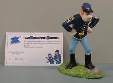 Tuniques Bleues Chesterfield fache statue resine Decotoys 22008 numerote