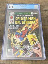 MARVEL Team-Up #76 Spider-Man Doctor Strange CGC 9.4 OW