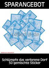 Blue Ocean - Schlümpfe das verlorene Dorf - 50 gemischte Sticker