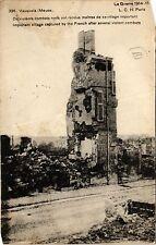 CPA Vauquois - La Guerre 1914-15 - De violents combats nous ont rendus (391730)