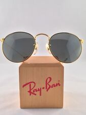 b171423b0766c4 Vintage Ray Ban Bausch and Lomb Round Metal Arista Silver G31 Mirror 49mm  New