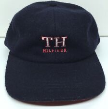 Vintage TOMMY HILFIGER Wool Snapback Hat Polo Original 90's EXC