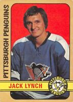 1972-73 O-Pee-Chee #160 Jack Lynch RC Rookie Pittsburgh Penguins