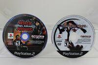 Lot of 2 Playstation 2 Namco Games Ninja Assault & Vampire Night  CDs only