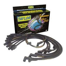 Taylor Spark Plug Wire Set 98082; ThunderVolt 50 10.4mm Black for Dodge/Jeep V8