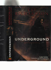 KAT RICHARDSON-UNDERGROUND 2008 SIGNED LIKE NEW 1ST E HB/J-PI GRAYWALKER MYSTERY