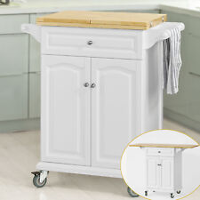 Wooden Kitchen Islands Amp Carts With Wheels For Sale Ebay
