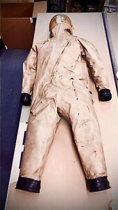 NASA 1966 Original Apollo Gemini SCAPE Suit for Rocket Space Ships Actually Used