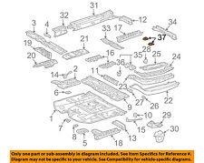 TOYOTA OEM Floor Rails-Plate Bracket 574680E010