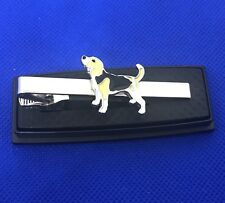 American Foxhound Tie Clip Canine Tie Bar English Foxhound Veterinarian Vet gift