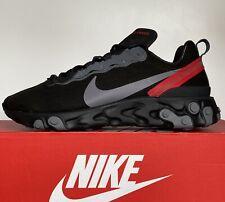 Zapatillas Nike reaccionar elemento 55 Para hombre Zapatos Tenis Reino Unido 10 EUR 45 US 11