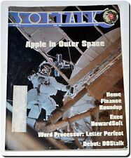 Vintage Softalk Magazine April 1982 Apple II, Full Color Game Ads, Giant Issue