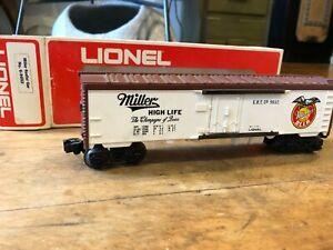 Lionel - Miller Beer Billboard Reefer Car - No. 6-9852 - O Gauge