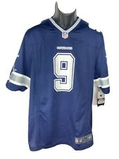 NFL Football Dallas Cowboys Team #9 Romo Jersey Men's Short Sleeve Size Medium