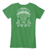 Irish Woman Women's Premium Tee T-Shirt