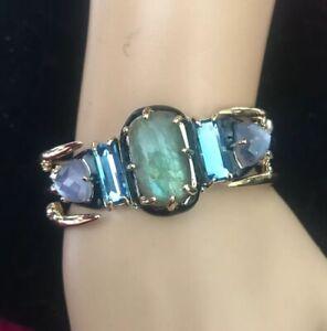 New Alexis Bittar Gem Cuff Bracelet $345.00