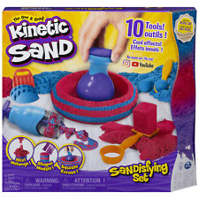 Kinetic Sand 2lb Sand and Tools Sandisfying Play Set