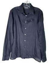 RAF SIMONS FADING PINSTRIPE SHIRT - SS08 size 48/M $899 Excellent condition!