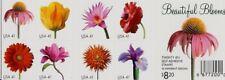 SCOTT U.S. #4176-85 2007 41¢ Beautiful Blooms Booklet Stamps