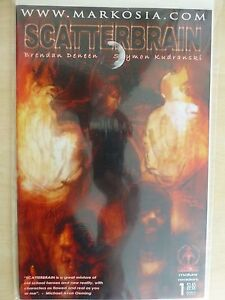 """Scatterbrain Issue 1 (Of 4) """"Cover A"""" Very Rare - 2006 Markosia"""