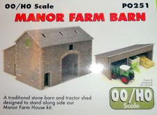 New Metcalfe PO251 Manor Farm Barn (OO/HO Gauge)