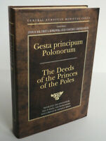 Deeds of the Princes of the Poles by Anonymus, Gallus HCDJ Latin/English NF