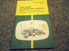 John Deere 493A Cotton & Corn Planters or 4 Others Operator's Manual