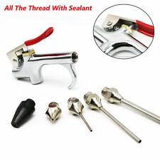 5Pcs Air Tool Compressor Blow Gun Chuck Pneumatic Accessories Brass And Steel