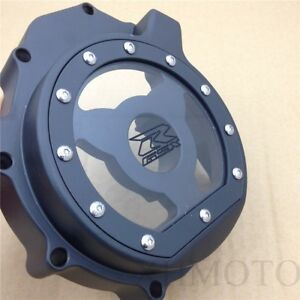 NBX See Through Engine Stator Cover For Compatible with Suzuki 04-05 GSXR600 750//03-04 GSXR1000