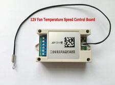DC 12V Fan Temperature Speed Control Governor Fan Temperature Control Board