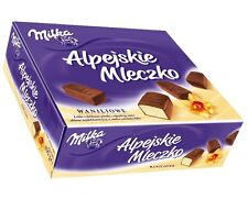 Milka Ptasie Mleczko - VANILLA Aerated Candies -330g - Shipping Worldwide -