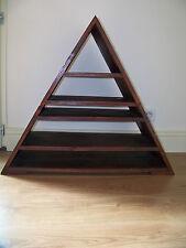 meuble artisanal triangulaire moderne et disign en sapin massif rangement TV