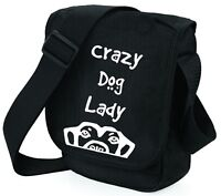 Dog Bag Crazy Dog Lady, Dog Looking Up, Shoulder Bags Handbags Birthday Gift