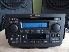 Acura MDX 2001-2004 CD Cassette player Combo 2PF2 base sound w/Code TESTED
