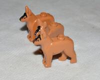 Genuine LEGO Dog Figures x3 For Minifigures Animal Genuine