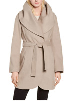 Tahari Marla Belted Wrap Coat  $400  Size XL # 7A 1424 NEW