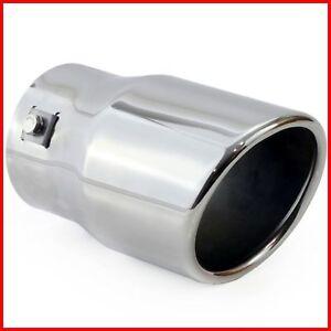 Endrohr aus Edelstahl,Auspuffblende Auspuff,Universal Car Y-f/örmiger Doppelauslass-Auspuffschalld/ämpfer Edelstahl Auto Auspuff Endrohr Tip Tail Throat Auslassdurchmesser 89mm