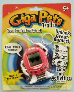 Giga Pets Trolls Red, Your Best Virtual Friend, Unlock Great Games, Virtual Pet