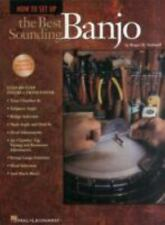 How to Set Up the Best Sounding Banjo by Roger H. Siminoff Paperback Book (Engli
