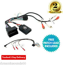 CTSAD002 Steering Wheel Stalk Control Interface Adaptor Lead For AUDI A3, A4, T