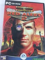 Command and Conquer Red Alert 2 PC 2000 SOVIET single Disc