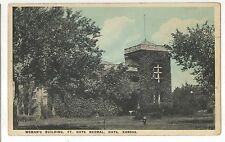 Woman's Building, Fort Hays Normal School, HAYS Kansas Vintage KS Postcard