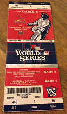 2013 CARDINALS WORLD SERIES GAME 5 STUB SEASON TICKET STOCK RED SOX 6000025